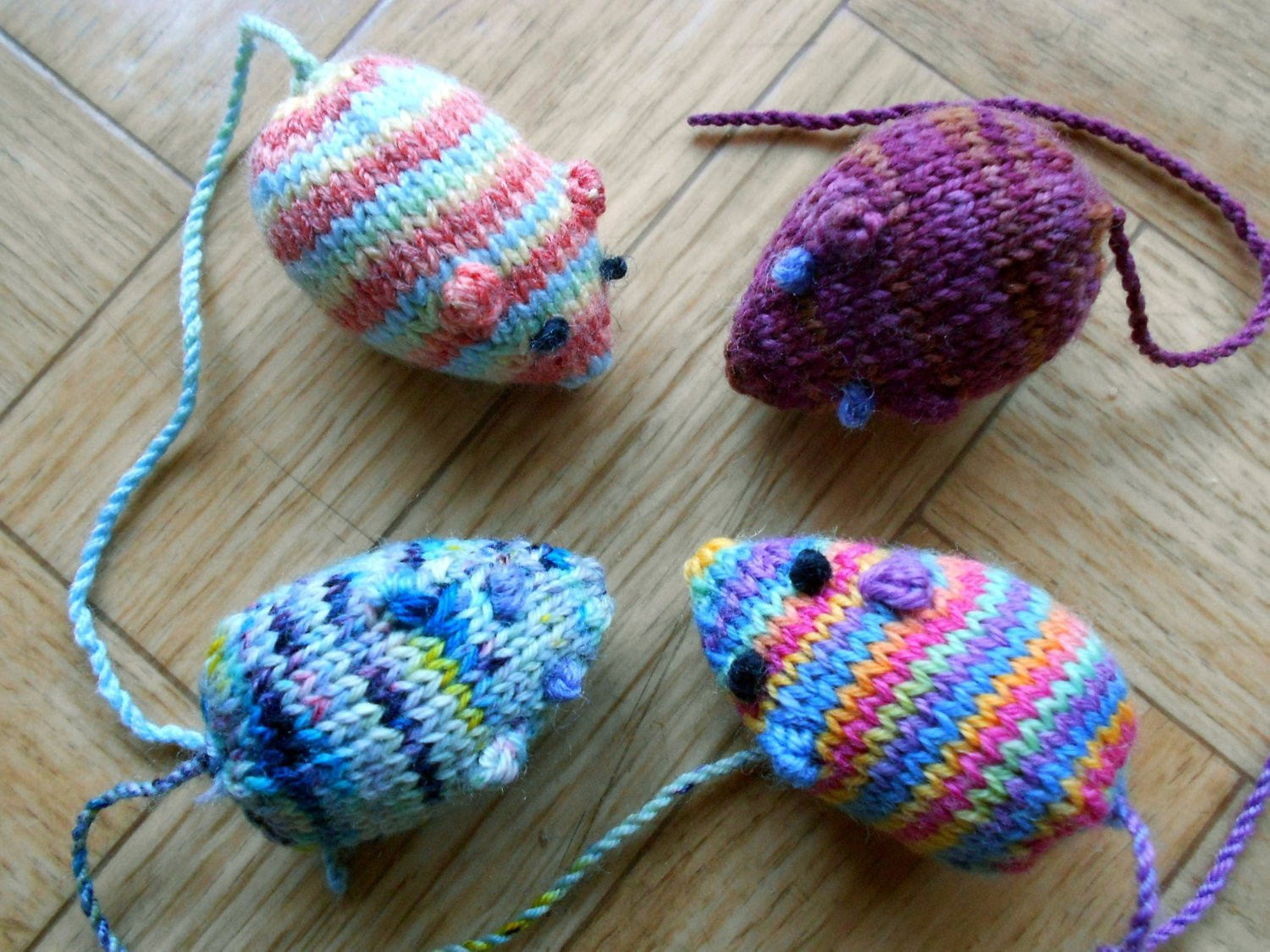 New Mouse Cat toys Homemade Knit Amigurumi Mice by Knitted Cat toys Of Fresh 44 Pics Knitted Cat toys