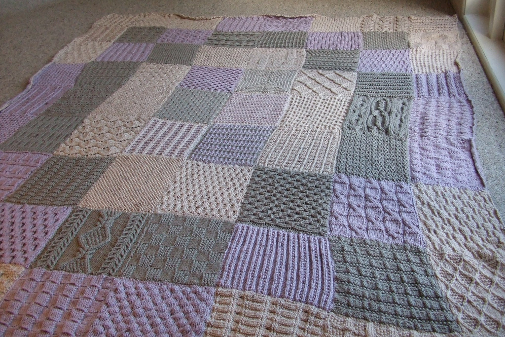 My knitted blanket