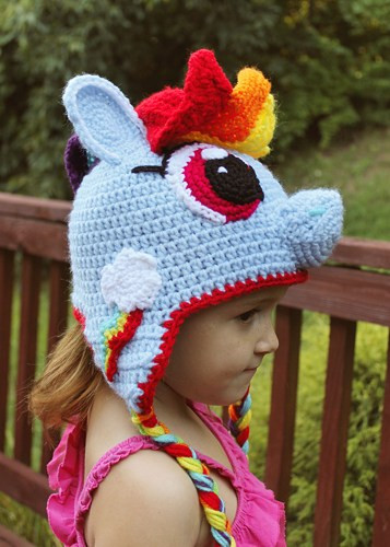 New My Little Pony Rainbow Dash Crochet Hat Pdf Pattern My Little Pony Crochet Pattern Of Brilliant 49 Ideas My Little Pony Crochet Pattern