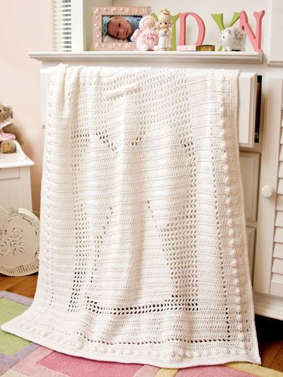 New crochet at e PatternsCentral Angel Baby Blanket