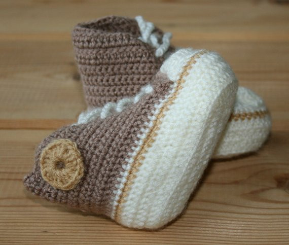 New Newborn Baby Booties Handmade Crochet Baby Booties Converse Crochet Converse Baby Booties Of Wonderful 41 Models Crochet Converse Baby Booties
