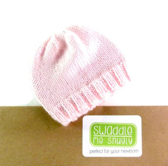 New Newborn Knitted Hat Infant Hospital Hat Baby Girl Beanie Knitting Baby Hats for Hospitals Of Beautiful 50 Pics Knitting Baby Hats for Hospitals