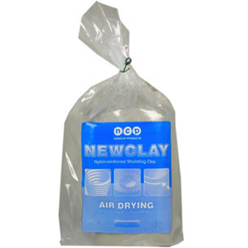 Newclay Grey Air Drying Clay mbfg