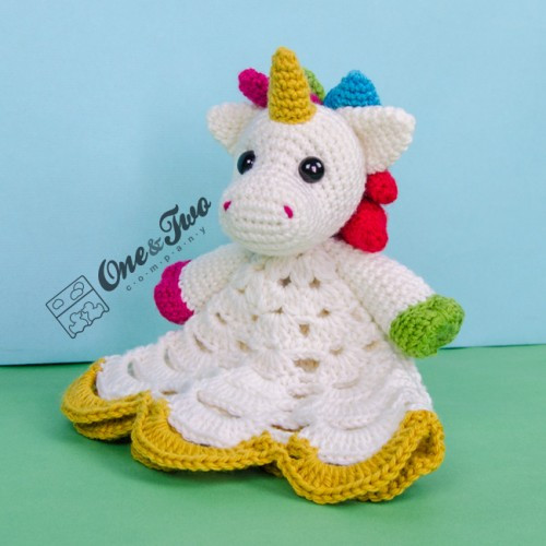 New Nuru the Unicorn Security Blanket Crochet Pattern Crochet Unicorn Blanket Pattern Of Marvelous 48 Photos Crochet Unicorn Blanket Pattern