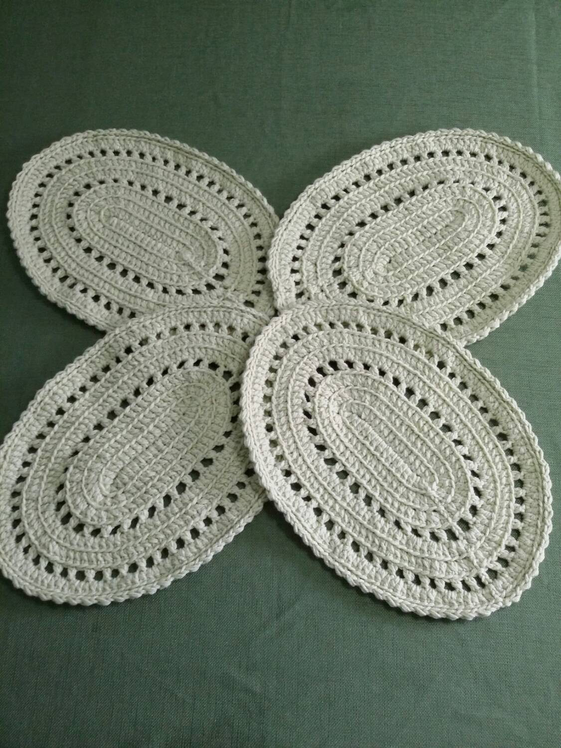 New Oval Crocheted Placemats Crochet Placemat Of Top 40 Pics Crochet Placemat