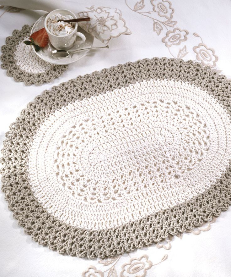 New Oval Placemat & Coasters Free Beginner Pattern Crochet Supplies for Beginners Of Marvelous 49 Ideas Crochet Supplies for Beginners