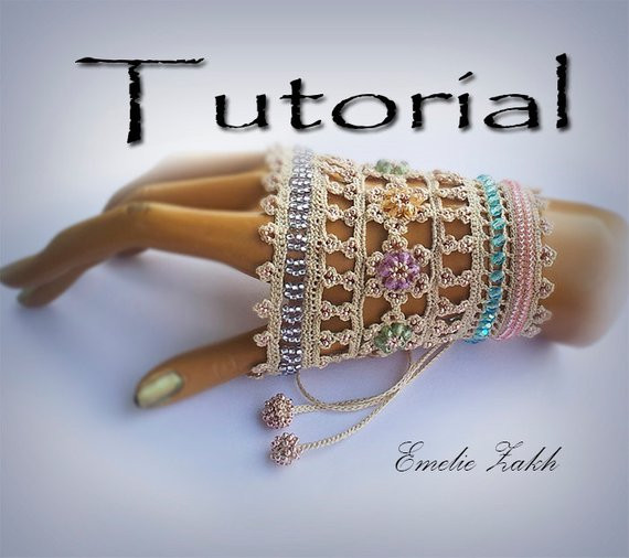 New Pattern Crochet Beaded Bracelet Exclusive Tutorial Pdf Crochet Beaded Bracelet Pattern Of Brilliant 49 Images Crochet Beaded Bracelet Pattern