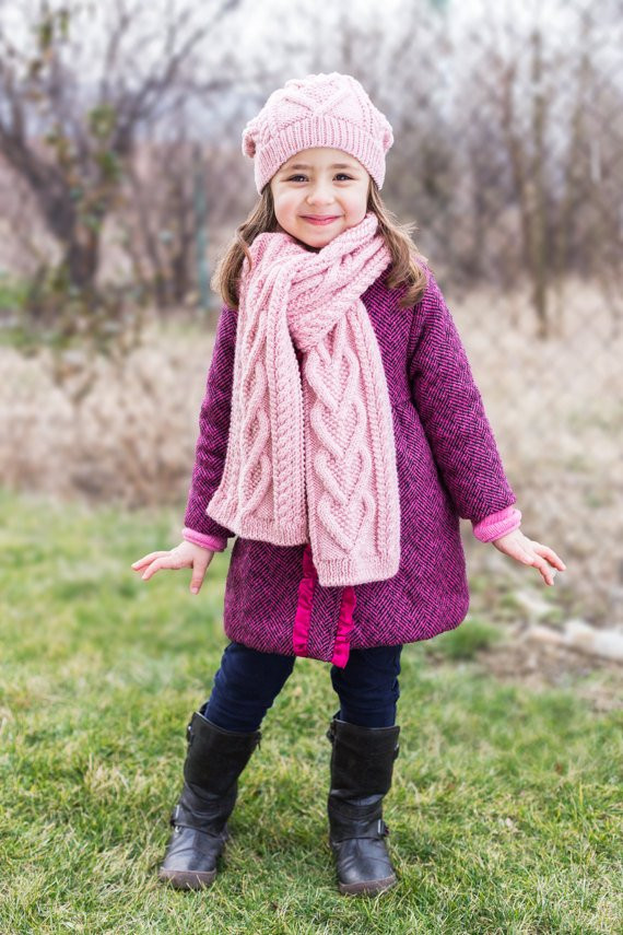 New Pdf Knitting Pattern Hearts Scarf Kids Scarf Child Child Scarf Knit Pattern Of Top 42 Photos Child Scarf Knit Pattern
