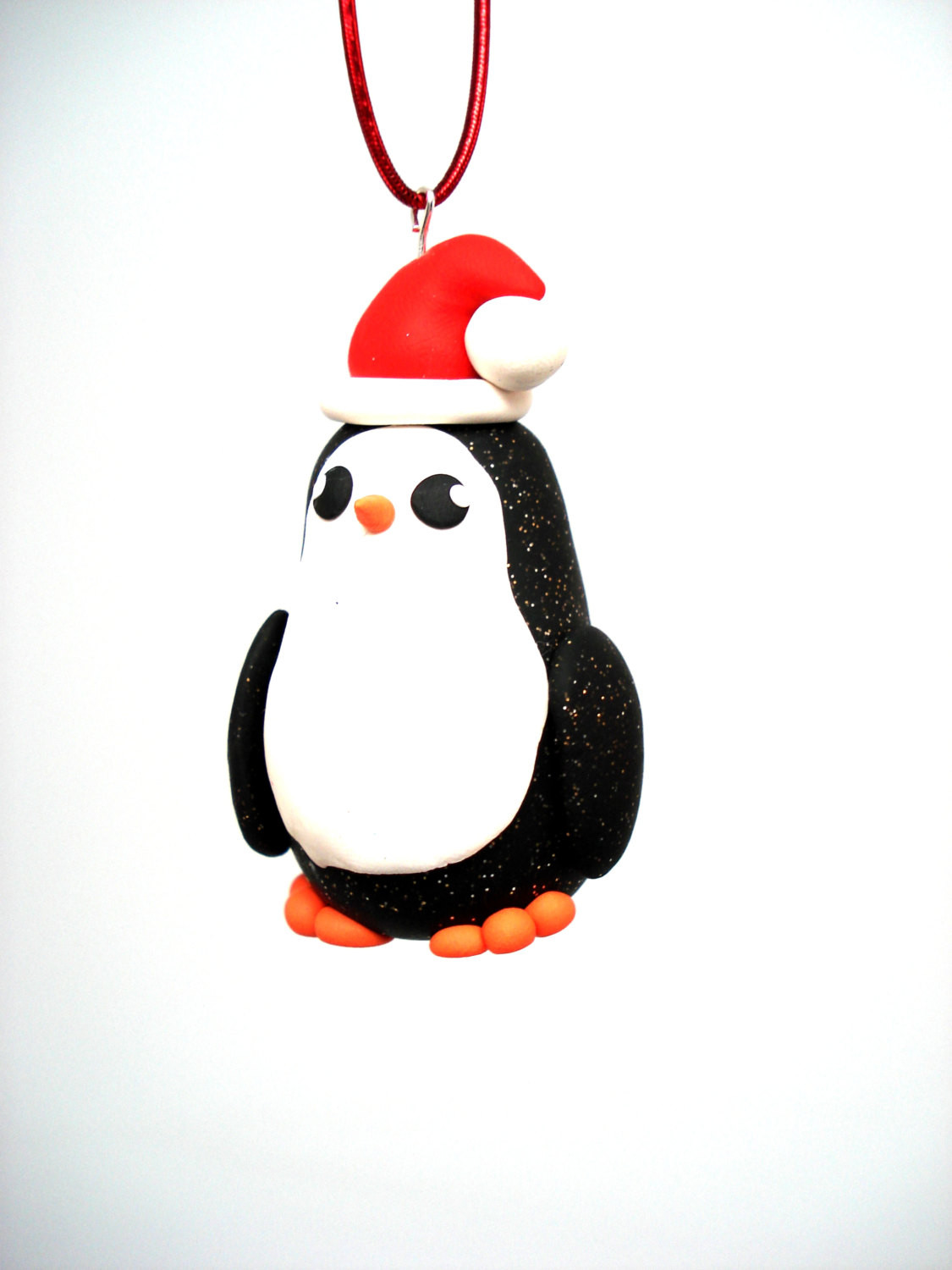 New Penguin ornament Polymer Clay Christmas ornaments Penguin Christmas ornaments Of Top 50 Models Penguin Christmas ornaments