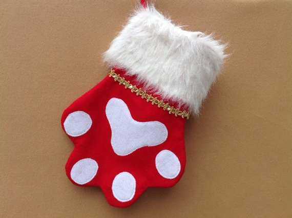 Personalized DOG Christmas Stocking PET Christmas Stocking