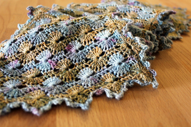 New Petit Tricotage Water Lily Scarf Catherine Wheel Stitch Crochet Of Contemporary 44 Photos Catherine Wheel Stitch Crochet