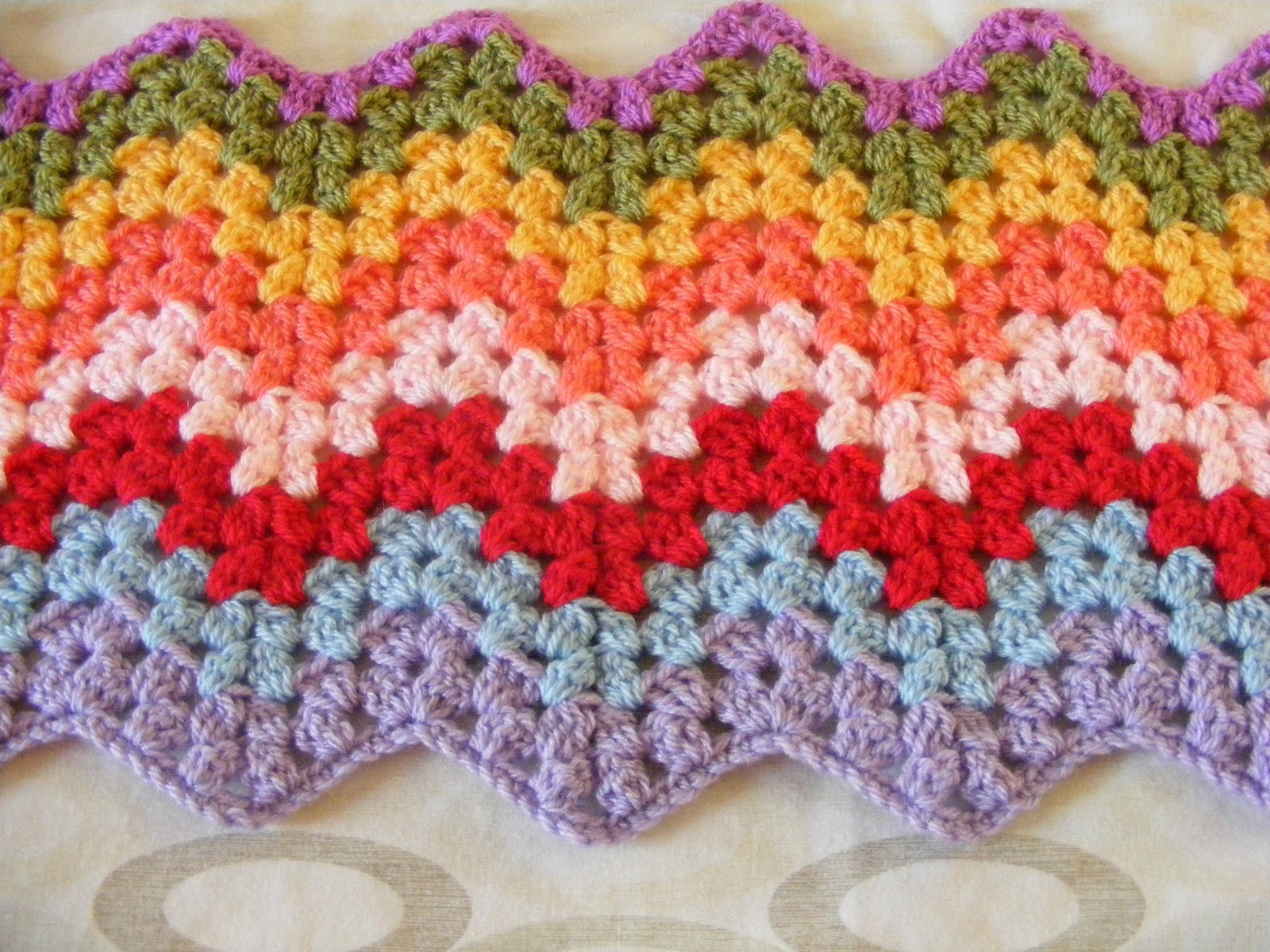 New Pinkfluffywarrior Granny Ripple Afghan Stitch Patterns Of Beautiful 50 Pics Afghan Stitch Patterns