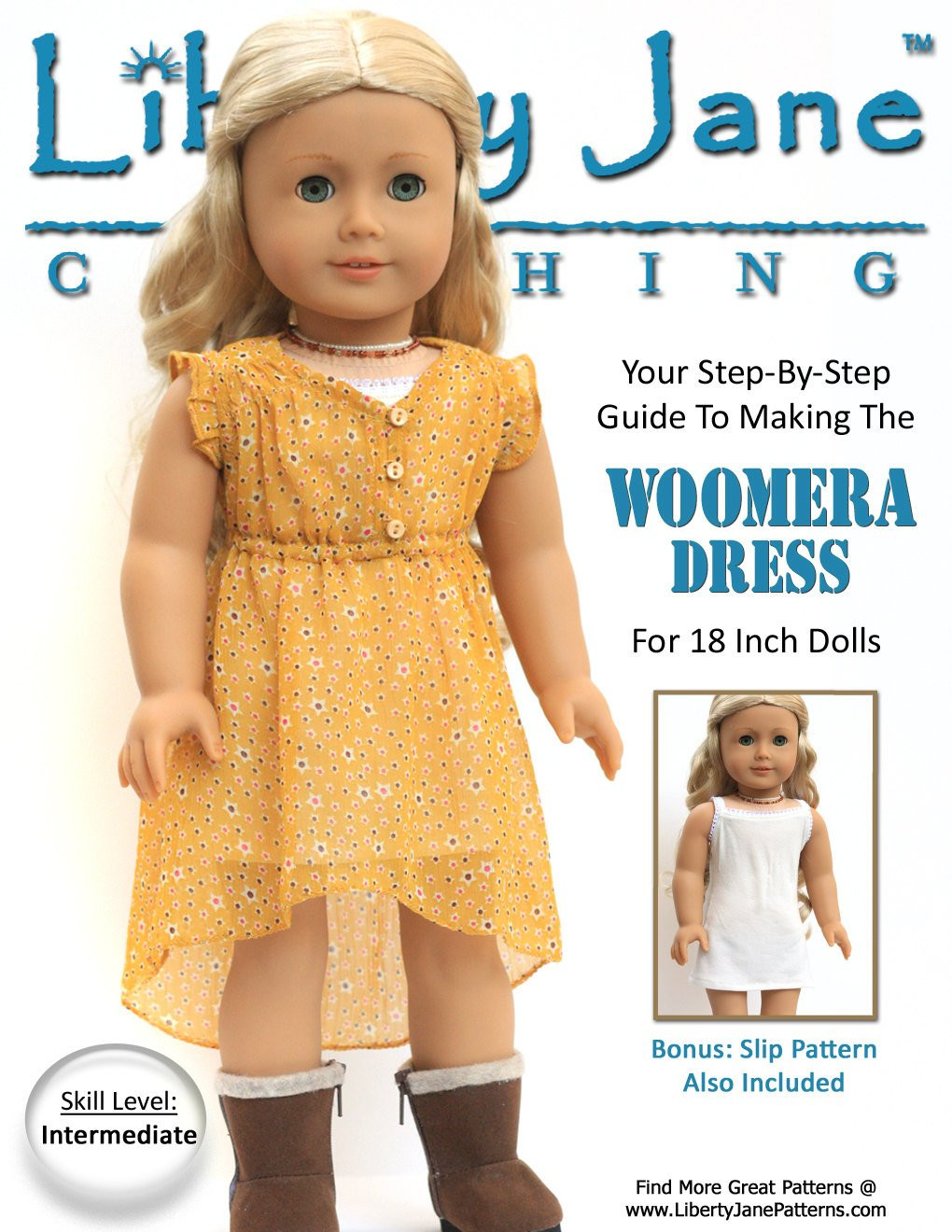 New Pixie Faire Liberty Jane Woomera Dress Doll Clothes Pattern American Doll Clothes Patterns Of Superb 48 Ideas American Doll Clothes Patterns