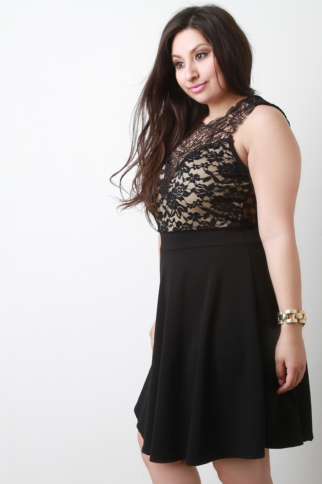New Plus Size Crochet Lace Illusion Skater Dress Plus Size Crochet Dress Of Attractive 46 Ideas Plus Size Crochet Dress