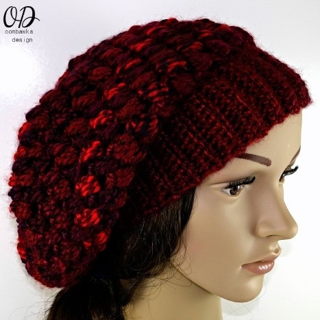New Pretty Cluster Stitch Slouch Hat Crochet Hat Bulky Yarn Of Top 41 Pictures Crochet Hat Bulky Yarn