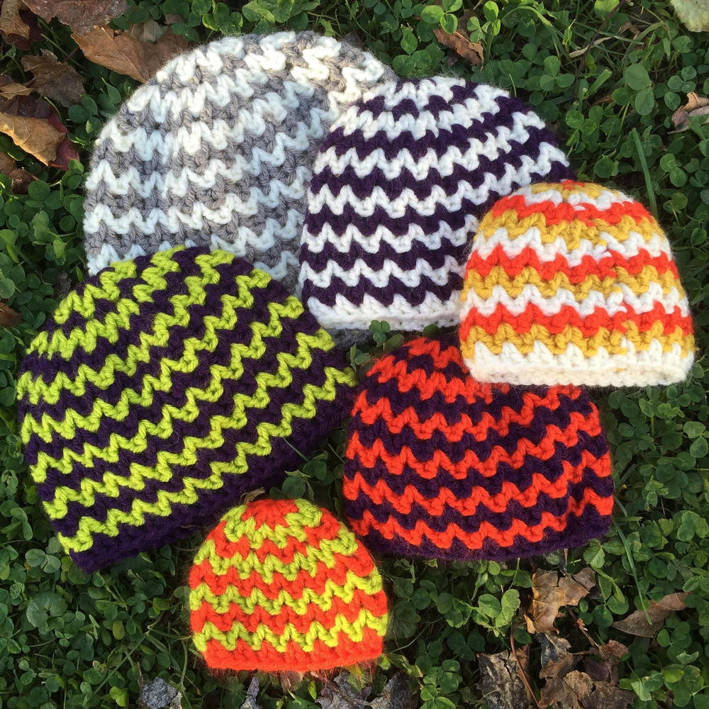 New Quick and Simple Crocheted Chevron Hat Simple Crochet Beanie Free Pattern Of Adorable 48 Images Simple Crochet Beanie Free Pattern