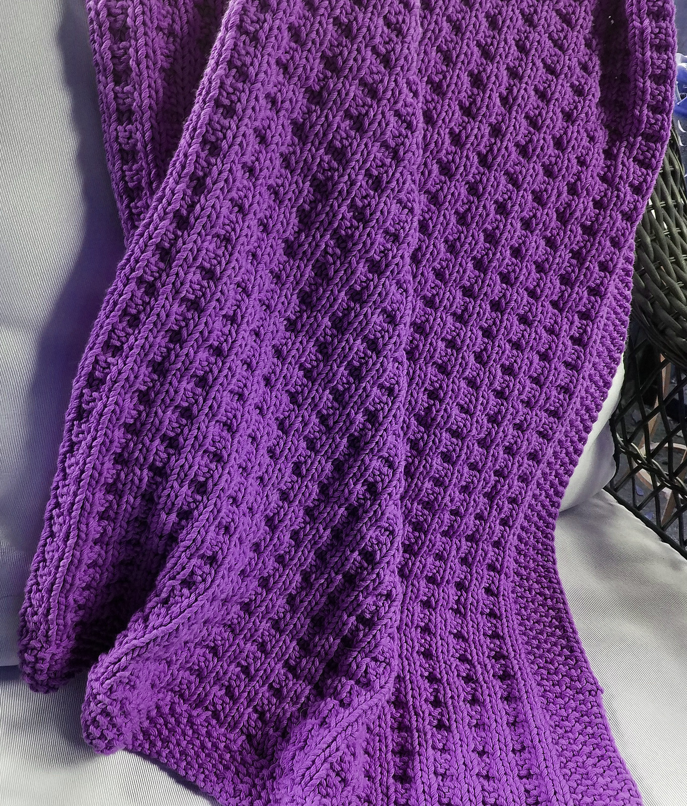 Quick Baby Blanket Knitting Patterns