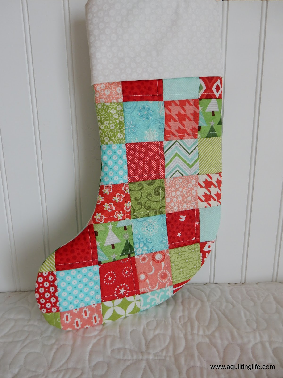 New Quilted Christmas Stockings A Quilting Life Xmas Stocking Patterns Of Marvelous 47 Images Xmas Stocking Patterns