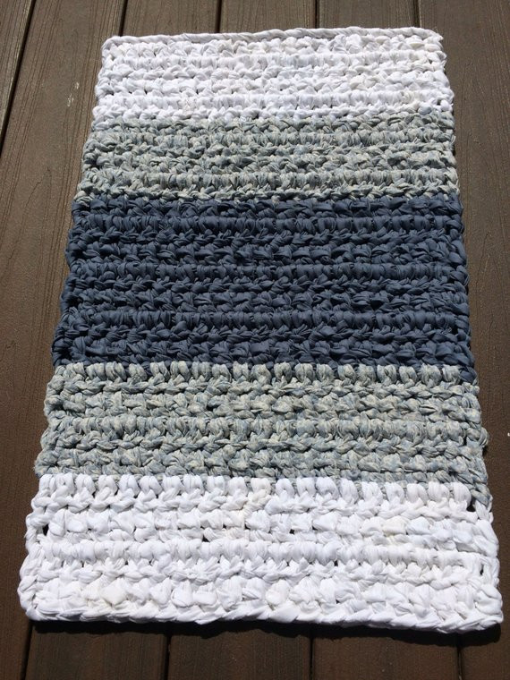 New Rag Rug Rectangular Rag Rug Crochet Rag Rug Bathroom Rug Crochet Bath Rugs Of Contemporary 44 Pictures Crochet Bath Rugs