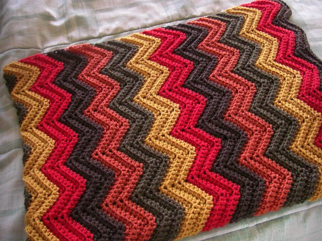 New Ravelry Bev S Baby Ripple Afghan Pattern by Beverly A Single Crochet Blanket Of Adorable 47 Photos Single Crochet Blanket