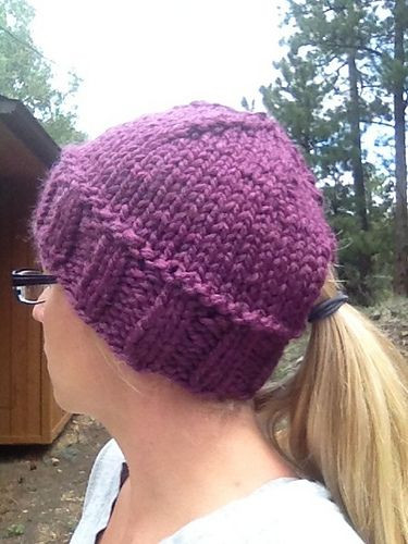 New Ravelry Quick Ponytail Hat Pattern Ponytail Beanie Pattern Of Adorable 50 Models Ponytail Beanie Pattern