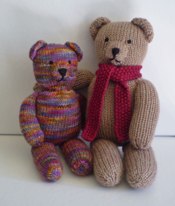 New Ravelry Teddy Bear Stripes by Frankie Brown Knitted Bear Pattern Of Brilliant 42 Photos Knitted Bear Pattern