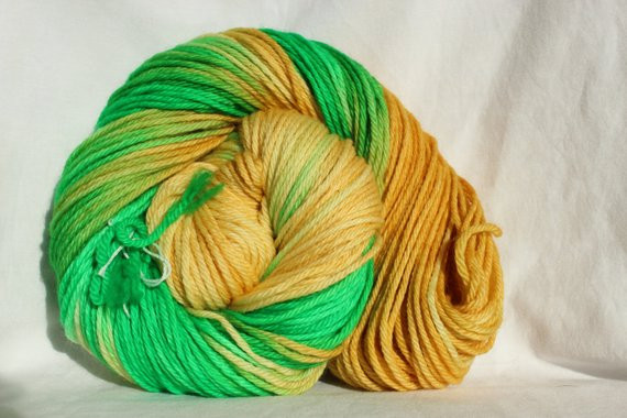 New Rts Hand Dyed Yarn Yellow Green Variegated Yarn Green Variegated Yarn Of Beautiful 50 Pics Green Variegated Yarn