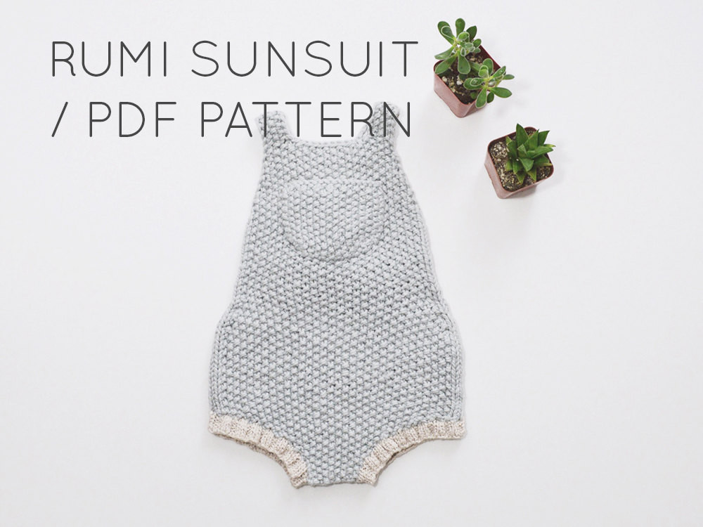 New Rumi Sunsuit Pdf Download Baby Romper Esie Knitting Knitted Baby Romper Of Amazing 42 Ideas Knitted Baby Romper