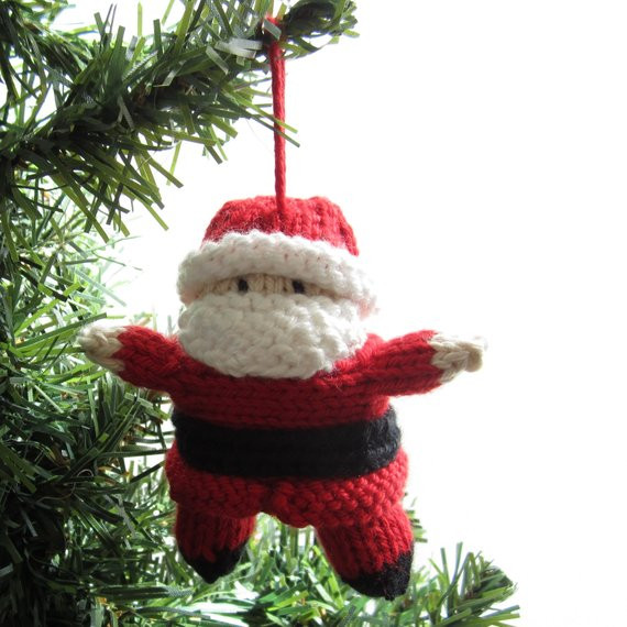 New Santa Christmas ornament Knitted Tree Decor Knitted Christmas ornaments Of Incredible 50 Models Knitted Christmas ornaments