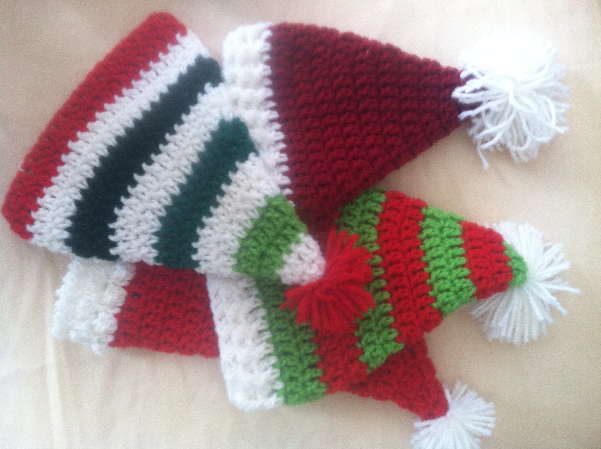 New Santa Hats Crochet Free Pattern – Family Bugs Crochet Designs Santa Hat Pattern Of Unique Baby Santa Hats – Tag Hats Santa Hat Pattern