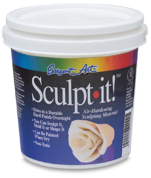 New Sargent Art Sculpt It Air Hardening Clay Blick Art Materials Air Hardening Clay Of Gorgeous 45 Models Air Hardening Clay