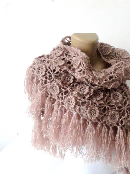 New Scarf Tea Rose Stole Bride Accessories Moms T Best Crochet Gifts Of Incredible 46 Pics Best Crochet Gifts