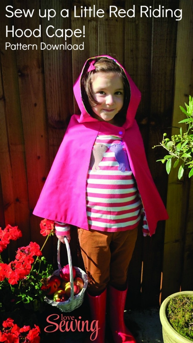 New Sew A Little Red Riding Hood Cape Free Pattern Download Red Riding Hood Cape Pattern Of Charming 43 Pictures Red Riding Hood Cape Pattern