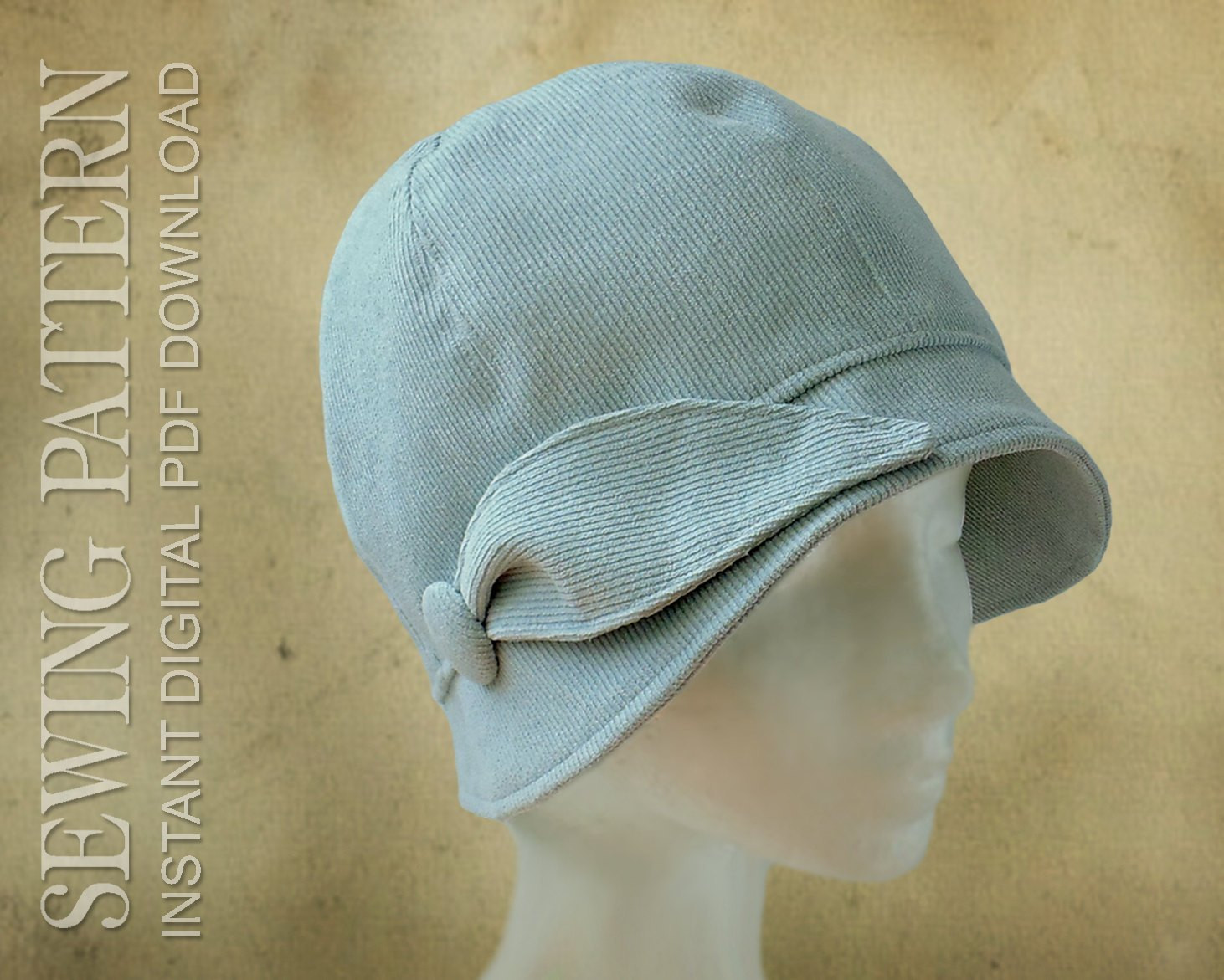 New Sew A Vintage Style Cloche Hat Cloche Hat Pattern Of Delightful 43 Photos Cloche Hat Pattern