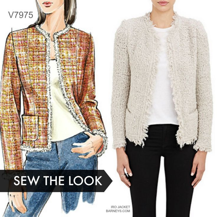 New Sew the Look Make A Chanel Style Jacket with Vogue Jacket Sewing Patterns Of Adorable 41 Models Jacket Sewing Patterns