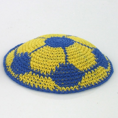 New soccer Ball Pattern Knitted Kippah Yarmulke Crochet Kippot Of Amazing 42 Ideas Crochet Kippot