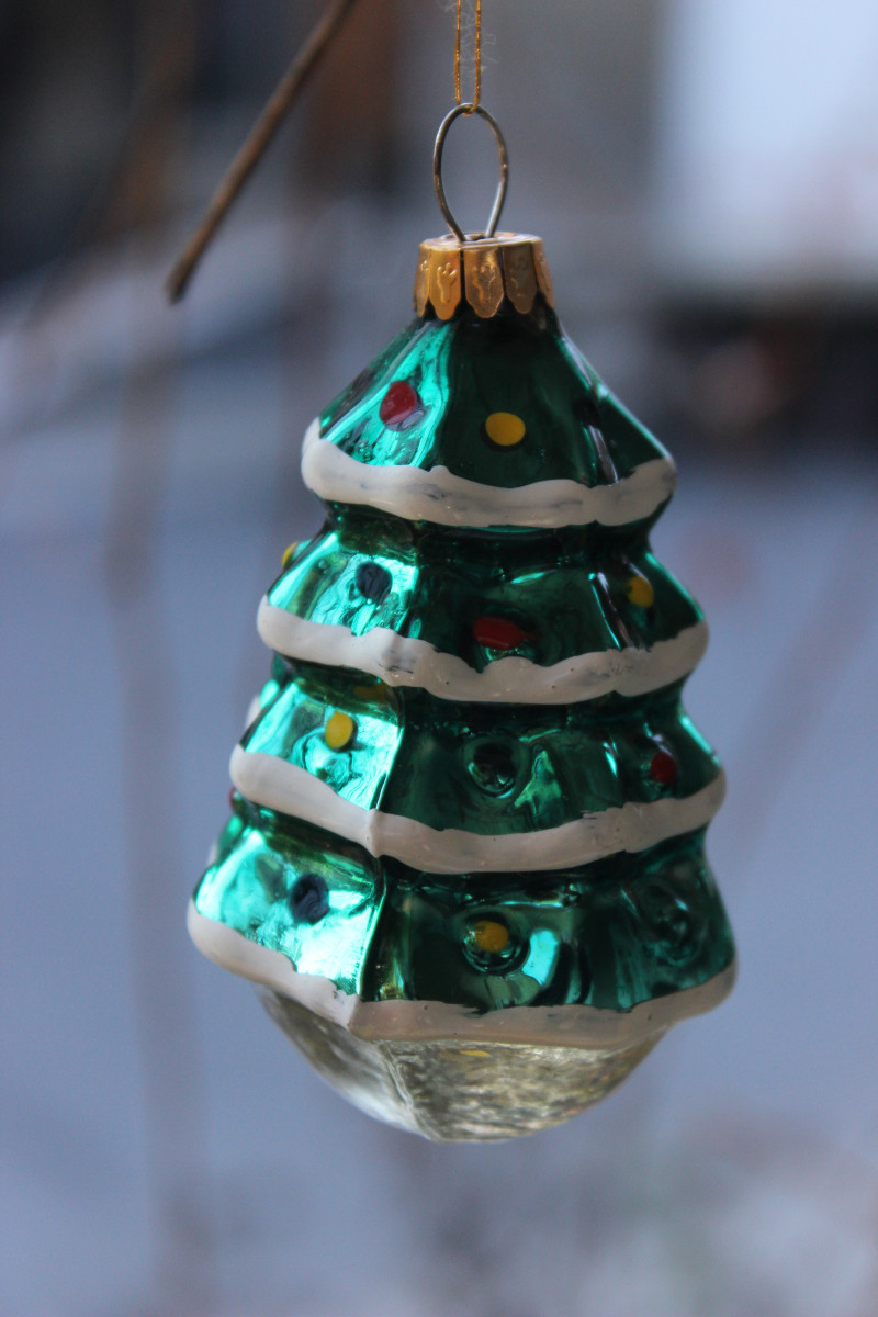 New sold – Vintage Glass ornament Christmas Tree Euc Vintage Christmas ornaments for Sale Of Charming 43 Pictures Vintage Christmas ornaments for Sale