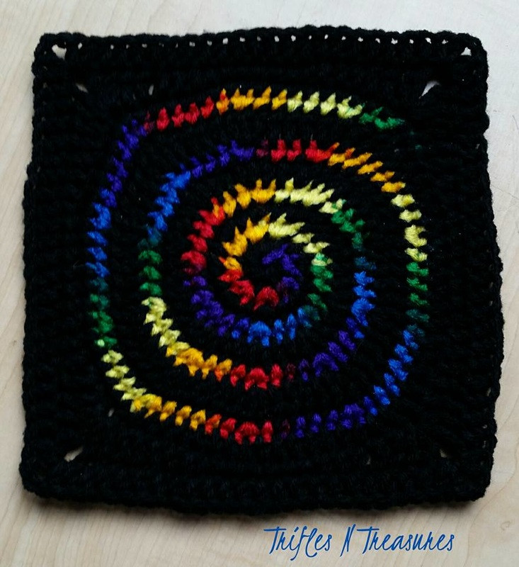 New Stained Glass Spiral Square Free Crochet Pattern Spiral Crochet Pattern Free Of Fresh 44 Models Spiral Crochet Pattern Free