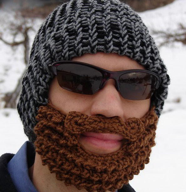 New Stash Down Challenge 2012 Day 18 A Crochet Beard and Crochet Beard Beanie Of Unique 49 Ideas Crochet Beard Beanie