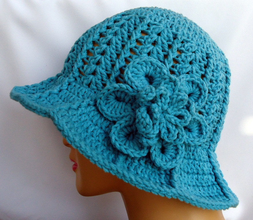 New Stitch Of Love Another Ridge Hat with Brim Crochet Hat with Brim Pattern Of Contemporary 46 Photos Crochet Hat with Brim Pattern