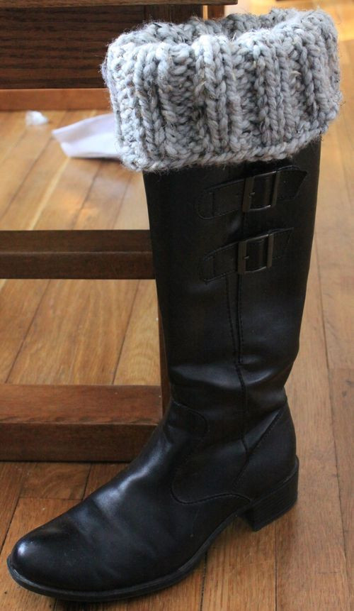 New Stitches Yarns and Boots On Pinterest Boot Cuff Pattern Of Contemporary 48 Pics Boot Cuff Pattern
