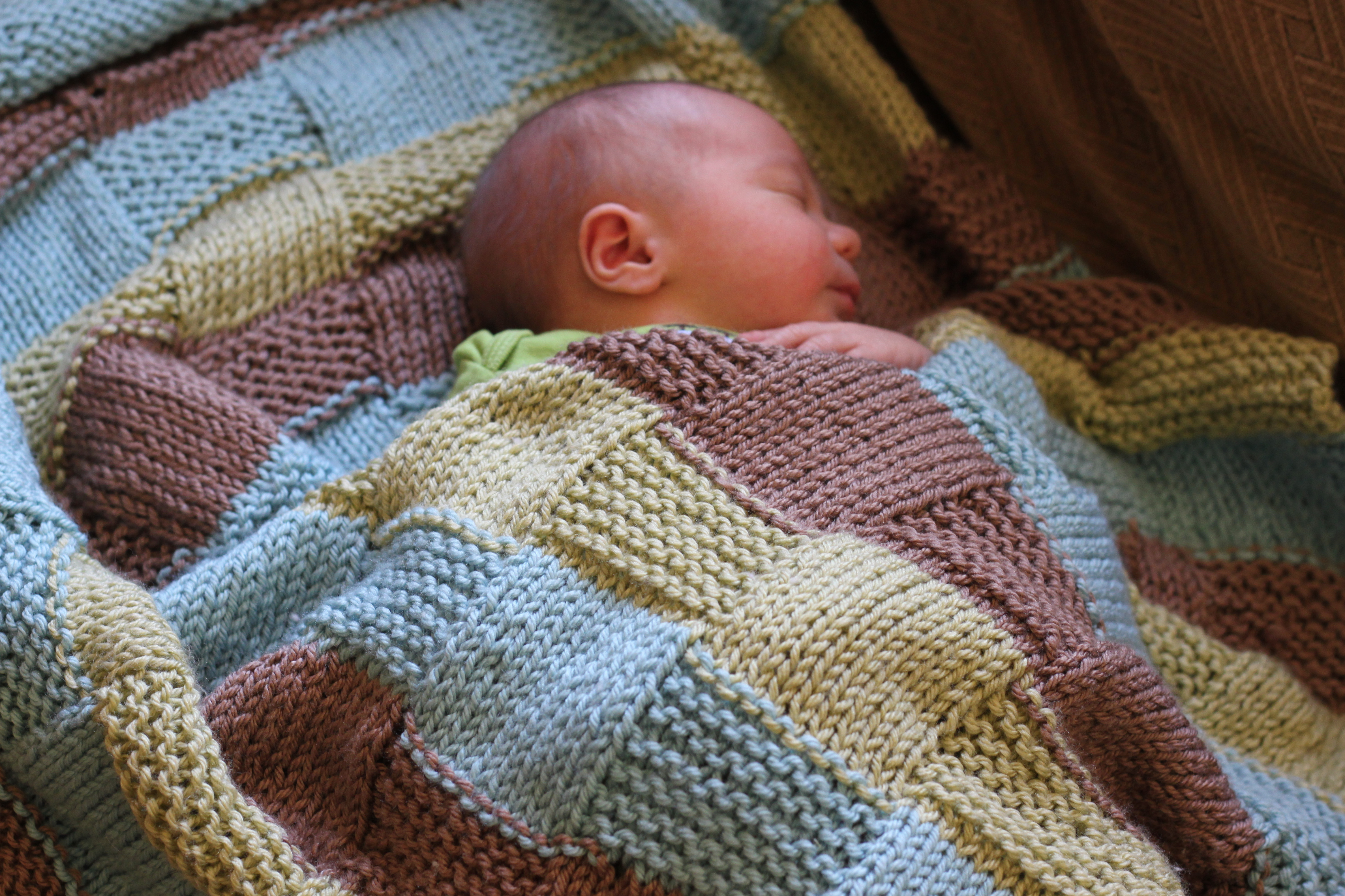 New Stripe the Squares Baby – Vintagemamasew Simple Knitted Baby Blanket Of Contemporary 44 Pics Simple Knitted Baby Blanket