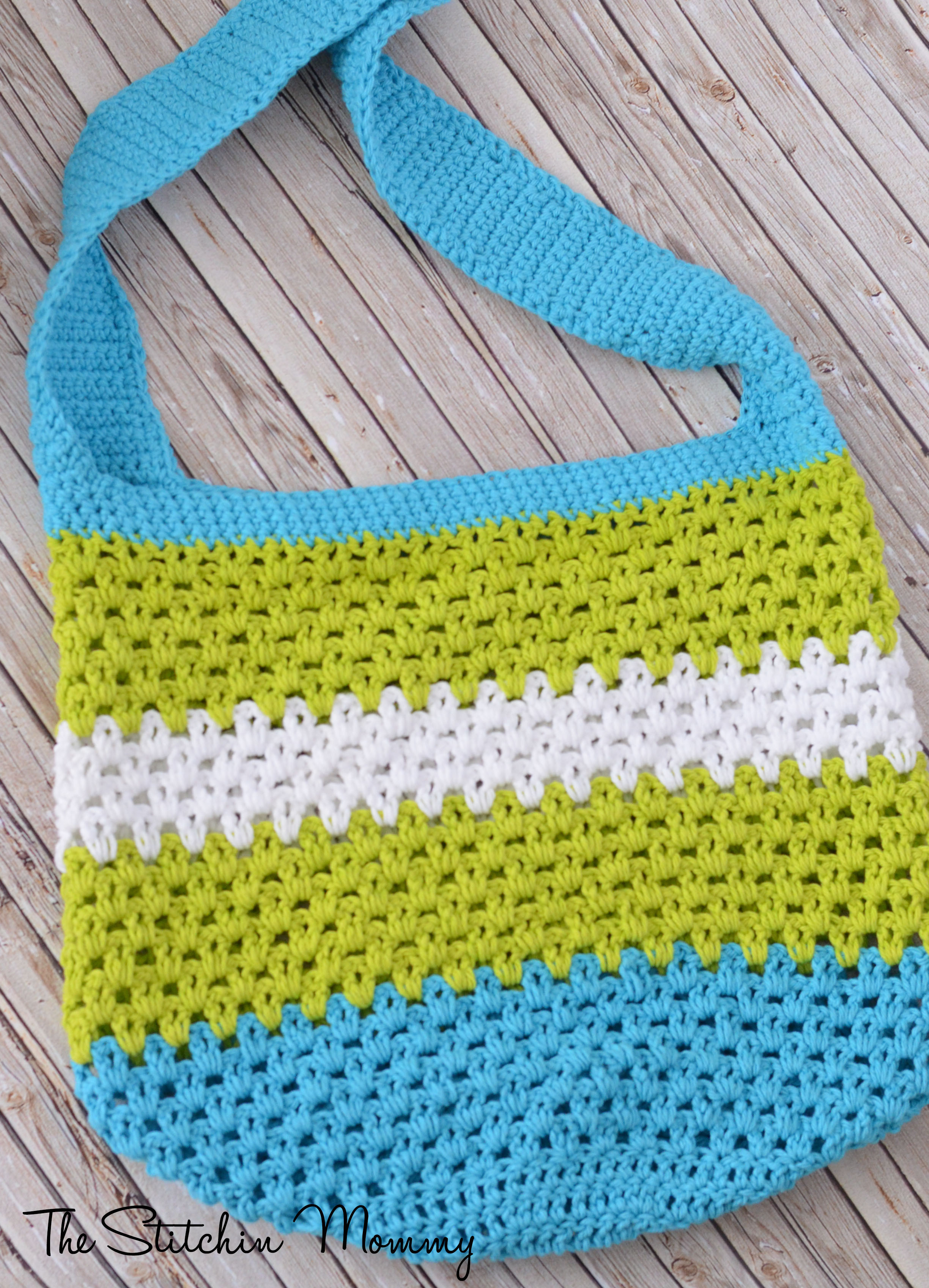 Summer Fun Market or Beach Tote The Stitchin Mommy