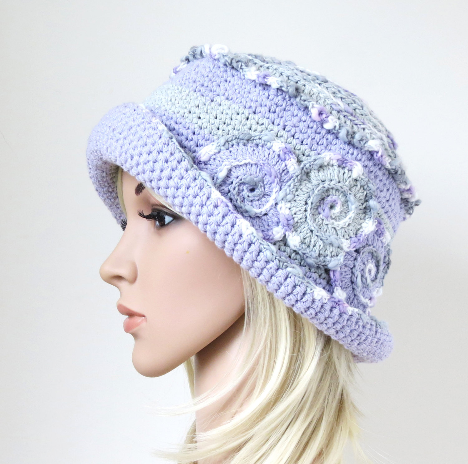 New Summer Hat Boho Sun Hat Crochet Cotton Hat Lavender Bucket Crochet Summer Hat Of Awesome 45 Images Crochet Summer Hat