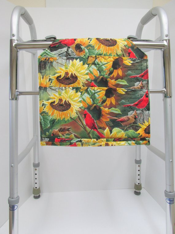 Sunflowers Yellow Walker Bag Red Cardinal Bag Closet