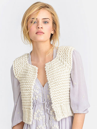 New Super Bulky Yarn Knitting Patterns Knitted Vest Of Great 48 Pics Knitted Vest