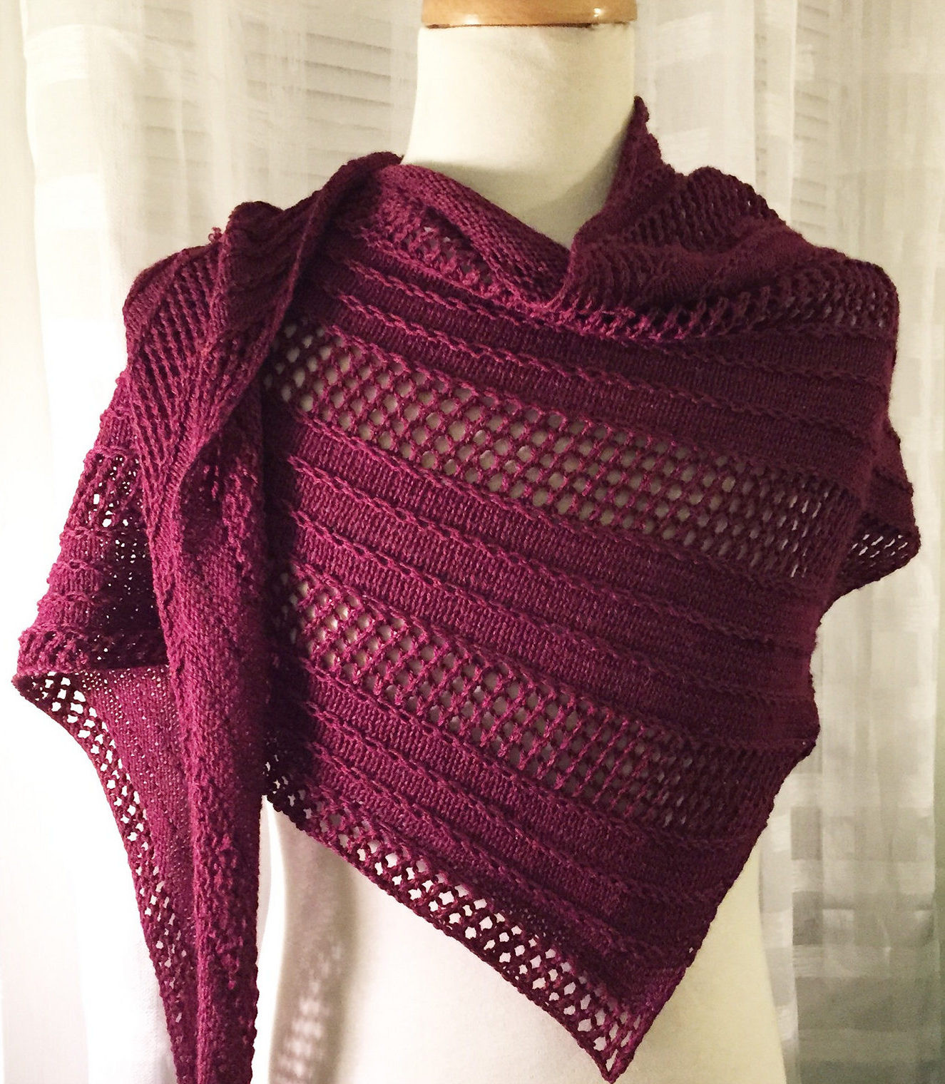 New Textured Shawl Knitting Patterns Easy Knit Shawl Of Fresh 44 Photos Easy Knit Shawl