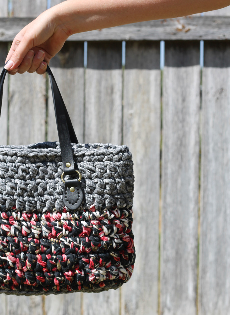 New the Craft Patch T Shirt Yarn Crochet Bag Free Pattern Crochet tote Pattern Of New 42 Pics Crochet tote Pattern