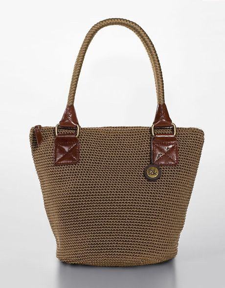 New the Sak Cambria Crochet Bucket tote Bag In Brown Taupe the Sak Bags Crochet Of Innovative 40 Photos the Sak Bags Crochet