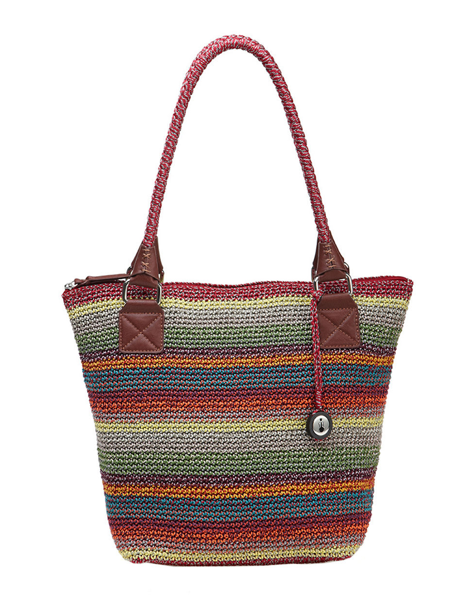 New the Sak Cambria Crochet tote In Brown Gypsy Stripe the Sak Crochet Bags Of Adorable 41 Ideas the Sak Crochet Bags